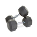 8-Sided Rubber Encased Dumbbell