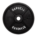 VTX Olympic Solid Bumper Plate with Steel Insert