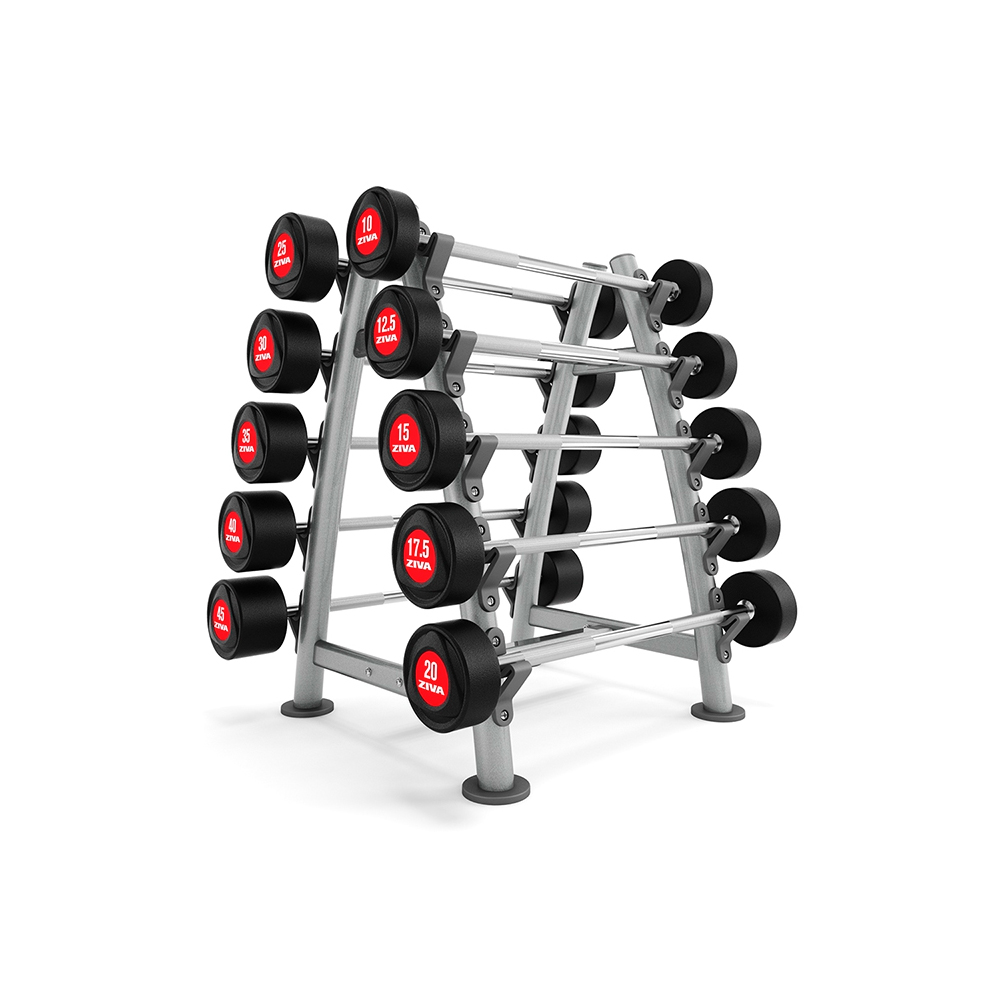 ZIVA ZIVA 10 Piece Barbell Rack