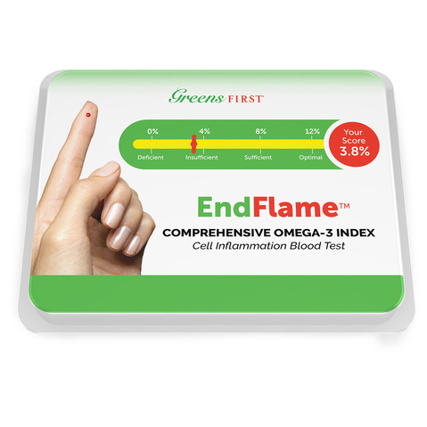 Greens First® EndFlame™ Cell Inflammation Blood Test
