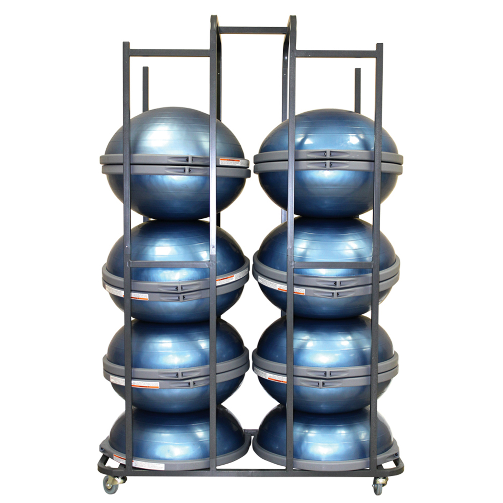Custom BOSU Storage Rack