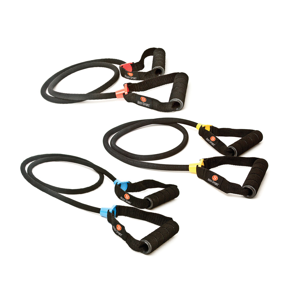 Body Sport Covered Resistance Tubes